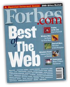 Forbes Magazine Best of the Web